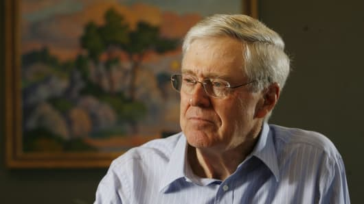 Charles Koch, head of Koch Industries.