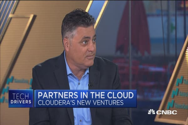 Cloudera And Hortonworks Announce All Stock Merger