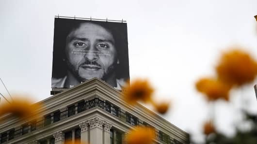 bf0c1b4a5e3bf Nike regains share losses sparked by controversial Kaepernick campaign