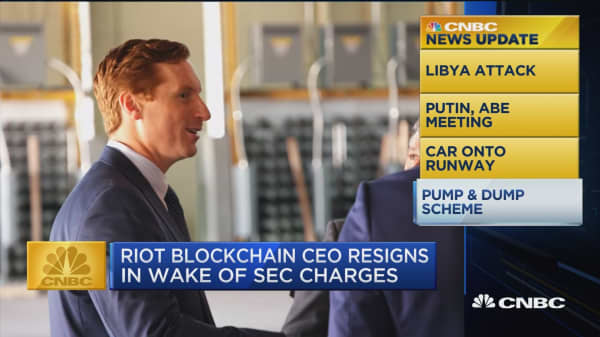 Riot BlockChain CEO John O'Rourke is out in wake of unrelated SEC charges