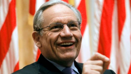 Bob Woodward, author of a new book on the Trump White House.
