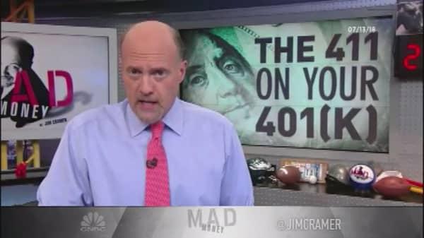 Cramer's 401(k) playbook: Don't pass up 'free money'