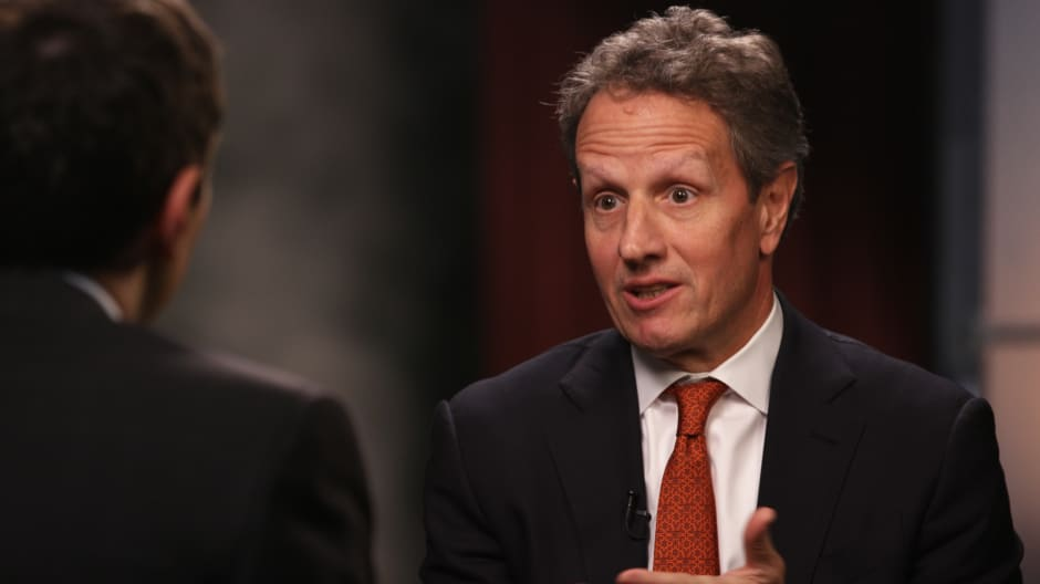 The 2008 Financial Crisis As Told By Former Treasury Secretary Timothy Geithner