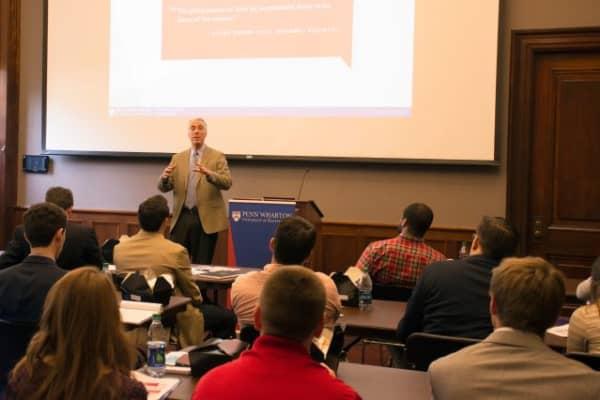 University of Pennsylvania Professor Kevin Werbach speaking.