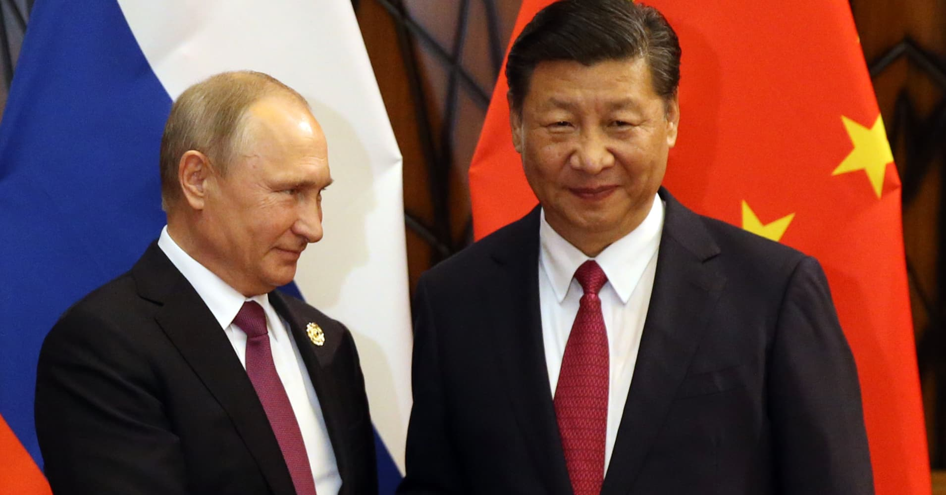 Russia and China are looking at launching joint projects worth more than $100 billion