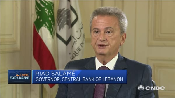 People expect better economic environment: Lebanon Central Bank Governor