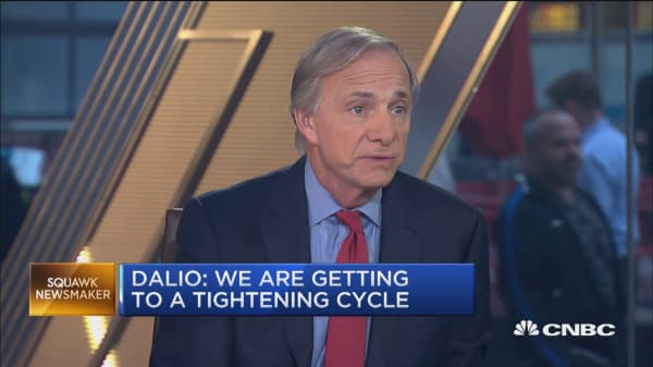 I'd be more defensive in my asset allocation right now, says Ray Dalio