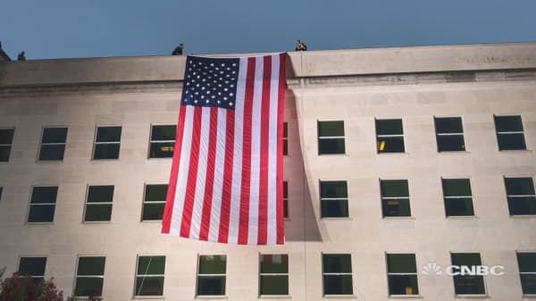 Pentagon marks September 11th anniversary