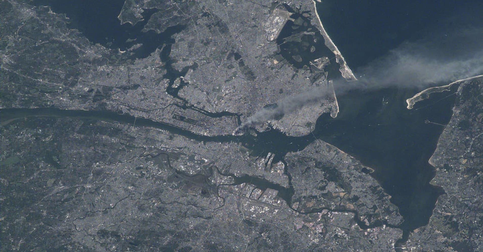 New York City on Sept. 11, 2001.
