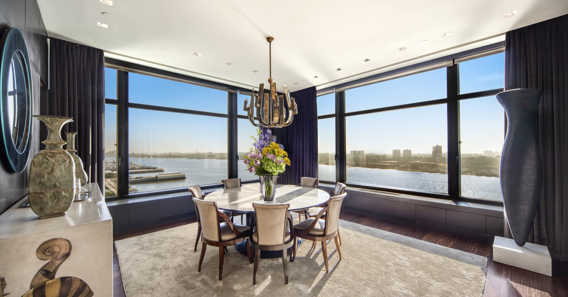 Take a look inside this media mogul's $22 million NYC penthouse