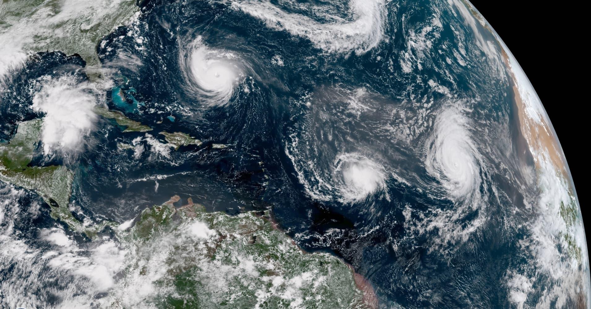 Hurricane Florence Isn T Alone Helene Isaac Joyce