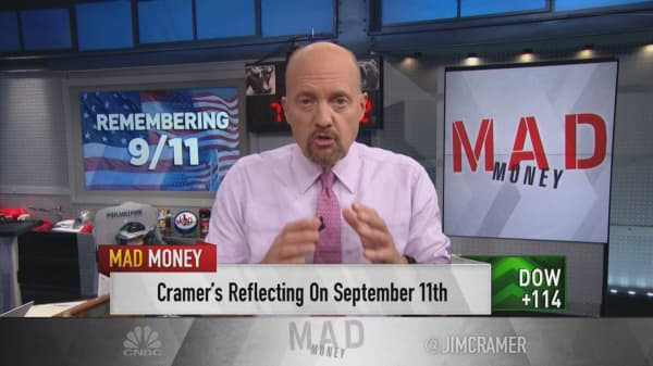 Cramer reflects on 9/11, the Lehman collapse and what's working now