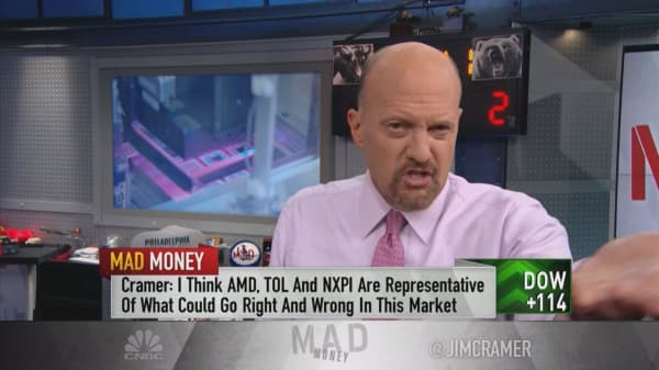 9/11, the Lehman collapse and what's working now: Cramer