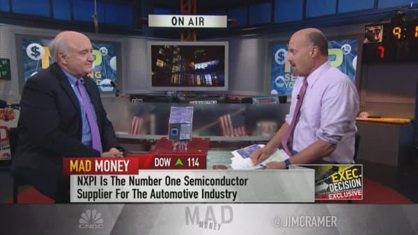 NXP Semiconductor CEO on autonomous driving longevity, failed Qualcomm deal