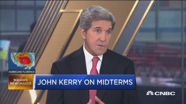 Midterms most important course correction people have, says John Kerry