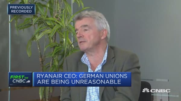 Ryanair CEO: There will be a day when I step down