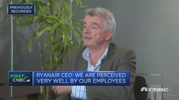 Ryanair CEO: Lehman collapse allowed for low-fare airlines like ours