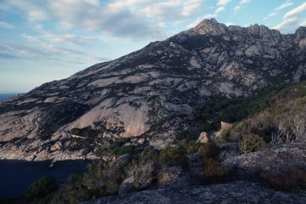 Cala Maestra, Montecristo island, Tuscan Archipelago National Park, Tuscany, Italy.