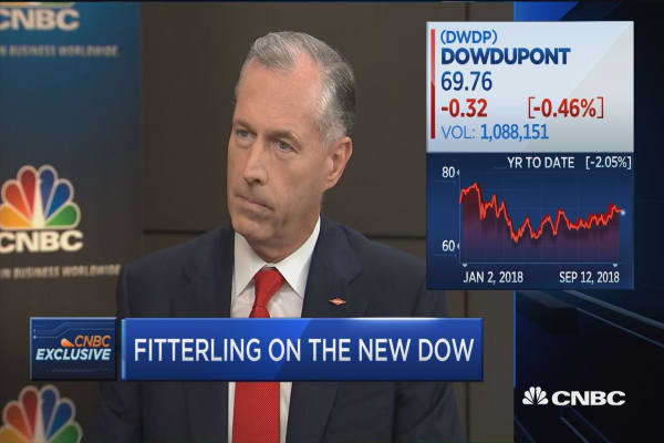 cnbc.com - Dow Chemical CEO Fitterling on the new Dow