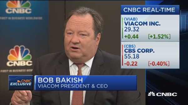 Bakish: I'm focused on moving Viacom forward