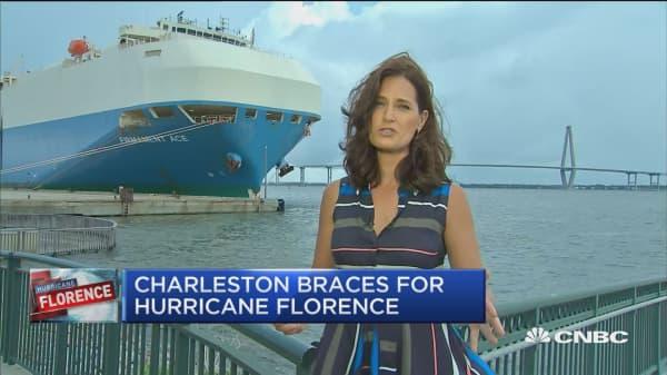 Charleston braces for Hurricane Florence