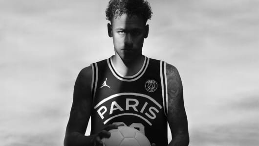 Nike is taking its famous Air Jordans beyond basketball in a new  partnership with the Paris Saint-Germain soccer club 8dd6cbdd2