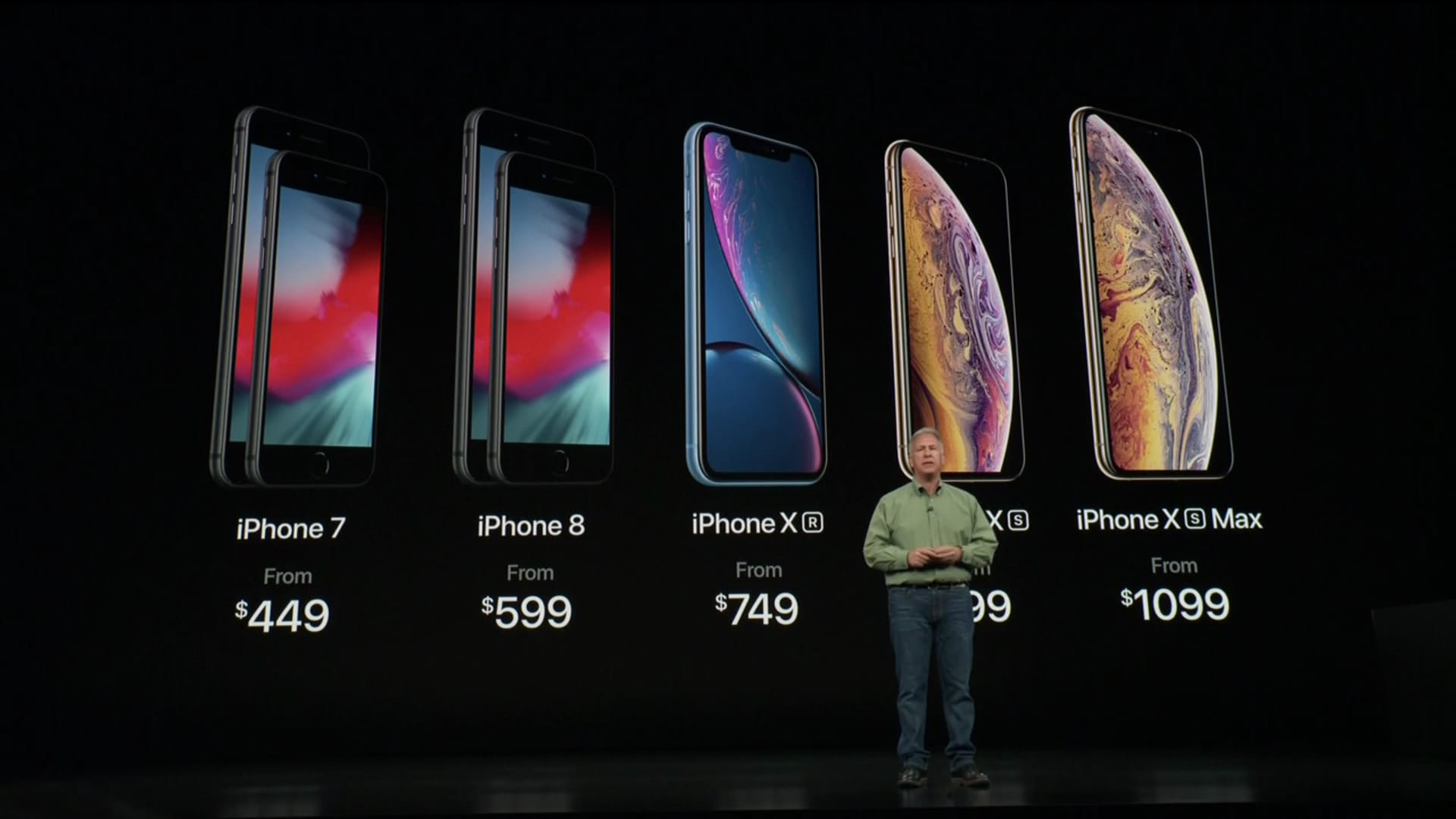 Apple Announces Iphone Xs Iphone Xs Max Iphone Xr Price Release Date