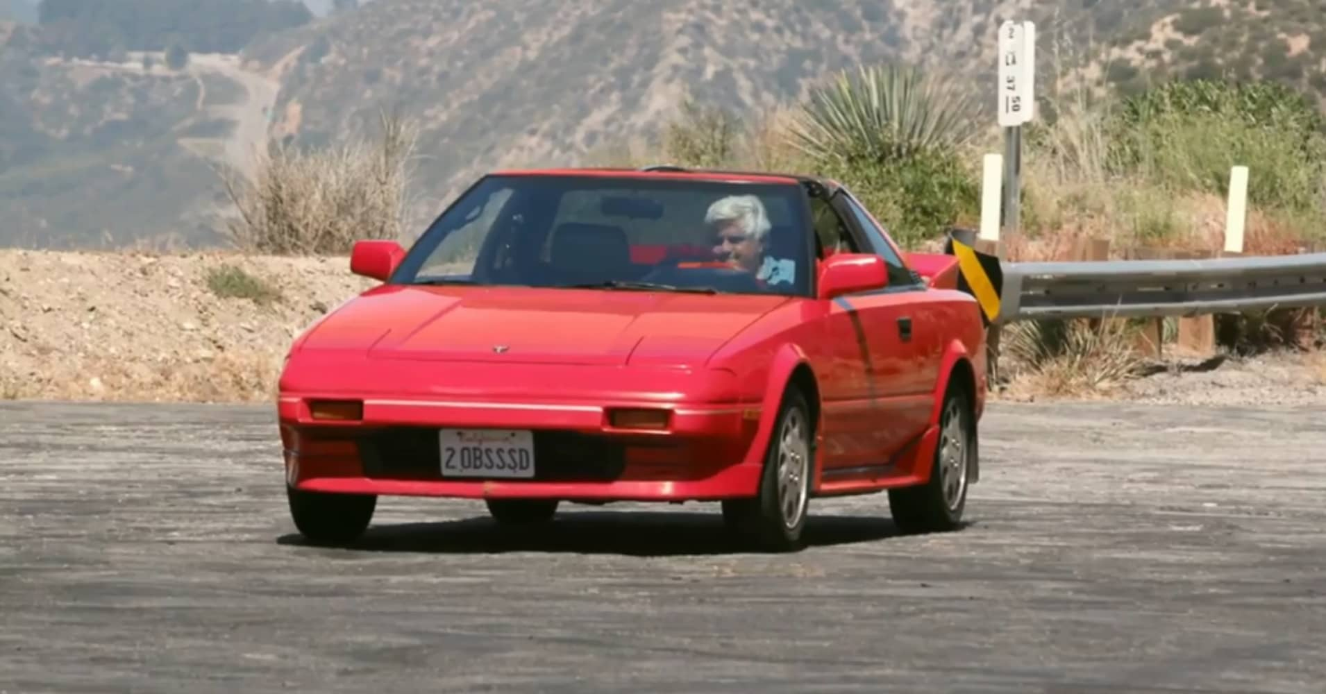 1988 Toyota MR2 Supercharged with Jay Leno behind the wheel