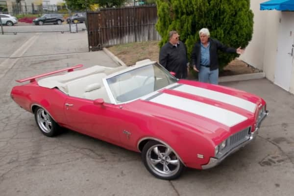 1969 Oldsmobile Cutlass with Jay Leno and Billy Gardell