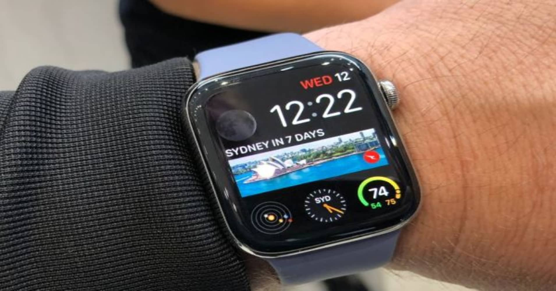 new product bcbd6 c031e Hands on with the new Apple Watch Series 4