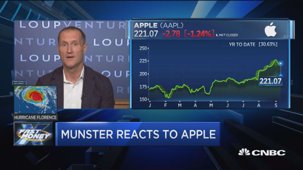 Significant upside remains in Apple, says Gene Munster