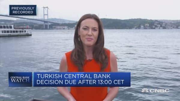 Turkey's Central Bank to raise rates by several hundred points