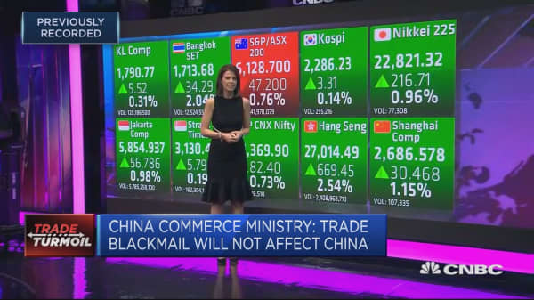 Asia markets positive as US seeks to reopen talks with China
