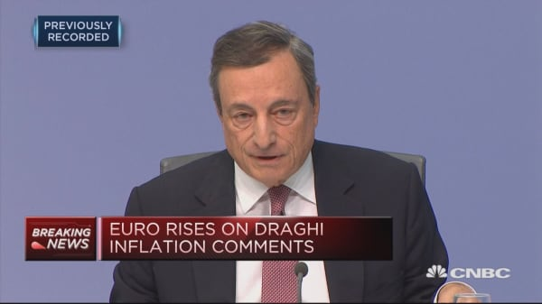All in all the banks are stronger now: Draghi