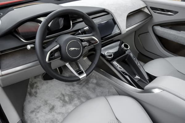 Inside the Jaguar I-Pace
