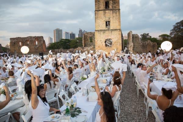 Le Diner en Blanc in Panama, 2018