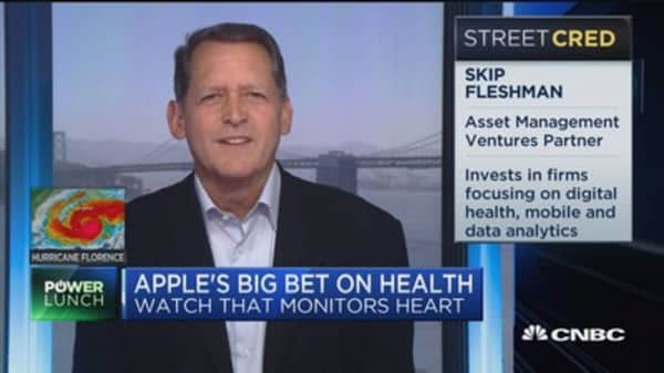 Biotech companies will be able to capitalize on Apple health data and 'improve outcomes,' expert says