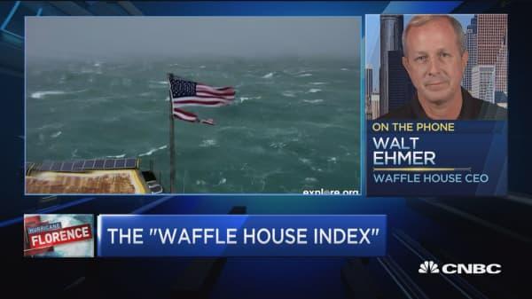 Waffle House CEO explains the story of FEMA's 'Waffle House Index'
