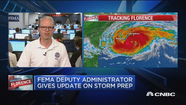 FEMA deputy administrator on Hurricane Florence prep