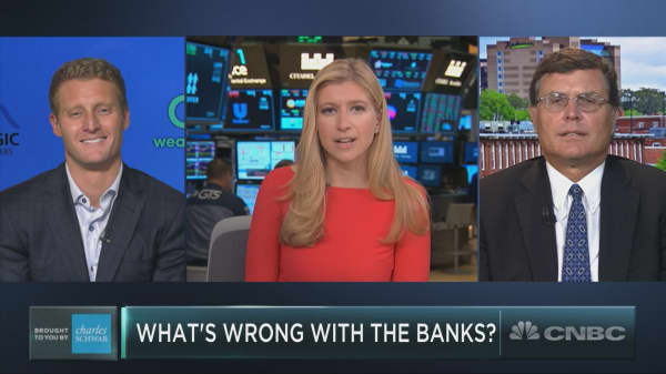 What's wrong with the banks?
