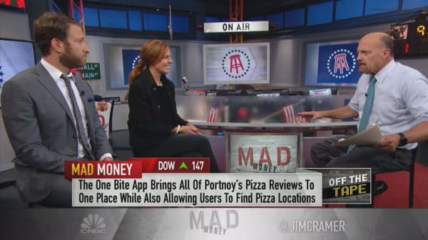 Barstool Sports founder and CEO discuss company's Yelp-like pizza app, One Bite