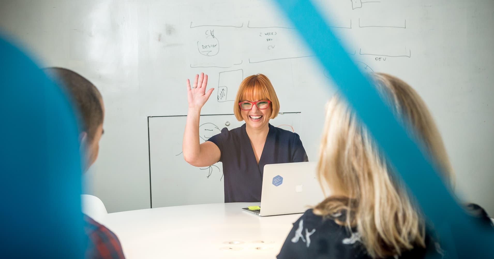 Karoli Hindriks, founder and CEO of Jobbatical.