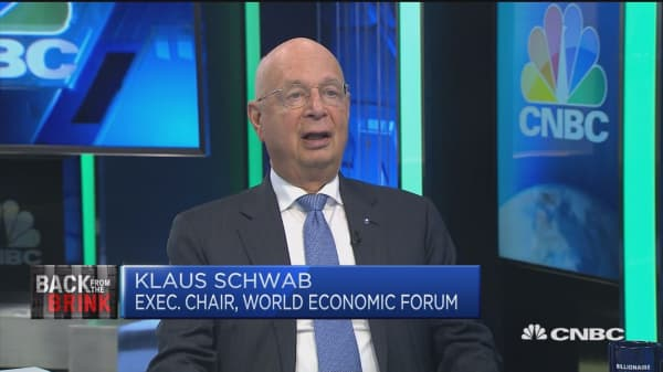 WEF chairman: We haven't learned enough from Lehman collapse