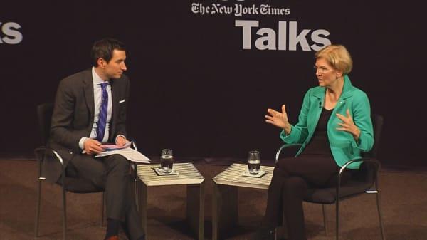 Sen. Elizabeth Warren on impeachment: Special prosecutor needs to finish his investigation