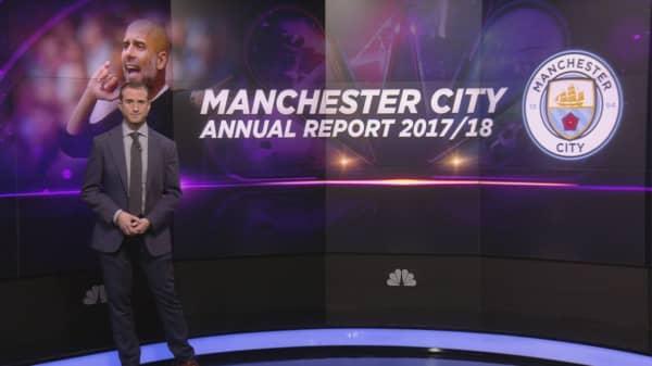 Manchester City reports record £500 million revenue