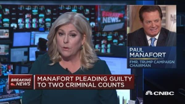 Manafort pleading guilty to two criminal counts