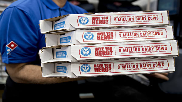 Domino's CEO on Hurricane Florence, Papa John's and NFL sponsorship