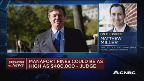 If the president was looking to prevent Manafort from cooperating, that ship has sailed, says former Justice Dept. spokesman