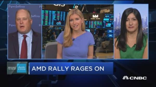 Trading Nation: AMD rally rages on