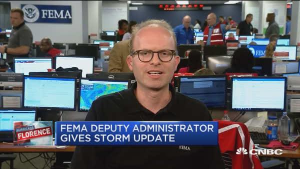 FEMA Deputy Administrator gives Hurricane Florence update